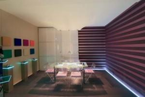 Deckensystem im Spanndecken-Showroom