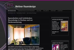 Mettner Raumdesign, seit 20 Jahren im Spanndecken Geschäft!