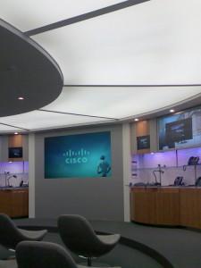 Transluzente Lichtdecken: Spanndeckenelemente bei Cisco