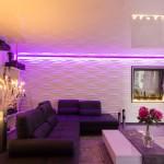 LED RGB Lichtleiste Spanndecken