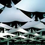 Coole Spanndecken-Elemente im Wembley-Stadion