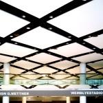 Raumdesign Mettner hat Spanndecken in London Wembley montiert