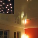 DIPline Steckleuchten in Spanndecke Wohnzimmer
