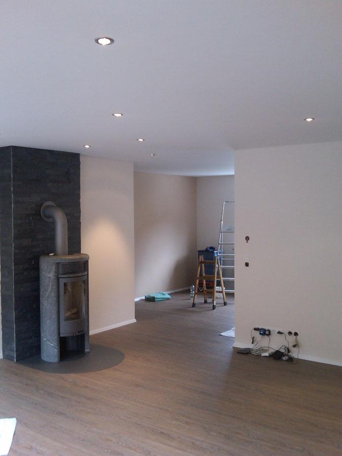 Wohnzimmer Ofen Verwinkelt Spanndecke Spanndecken Mettner